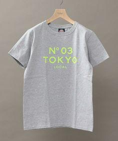 BEAUTY&YOUTH MENS(ビューティアンドユース メンズ)の【予約】【別注】【WEB限定】 <SOFTCREAM> N03 PRINT TEE 2/Tシャツ(Tシャツ/カットソー)|グレー