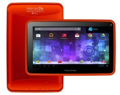 Visual Land Prestige 7G 8GB with Google Play- Red Orange