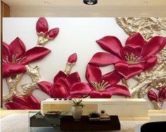 Imagem IMG 7125 no álbum Interior design 3d Wall Decor, 3d Wall Murals, Flower Wall Decor, Room Wall Painting, Clay Wall Art, Diy Painting, 3d Wallpaper Mural, Photo Wallpaper, Photos Booth