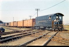 RailPictures.Net Photo: PRR 9193 Pennsylvania Railroad FM H10-44 at East St. Louis, Illinois by John Dziobko www.godfatherrails.com