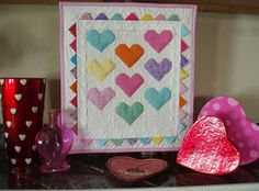 Sunshine in the Attic: Sweet Hearts and Valentine's Quilty Project