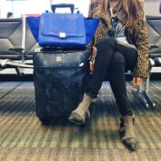 Travel Style: Airport Outfits Through Instagram