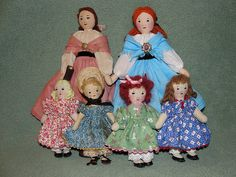 All the new dolls together by grannyinak, via Flickr