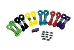 Parachute Cord Bracelets - Kit for 12