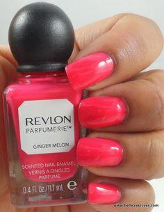 Revlon Parfumerie Scented Nail Polish - Ginger Melon