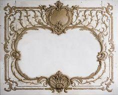 лепнина барокко декор стен