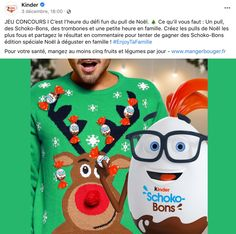Journée du pull de Noël Kinder Trombone, Pulls, Christmas Sweaters, Gaming, Christmas Jumper Dress, Tacky Sweater