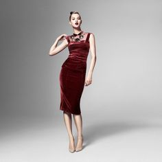 Anais Pouliot wears FW12 L'Wren Scott The Bay Pin to Win Contest: http://www.facebook.com/HudsonsBayCompany/app_140063116138390