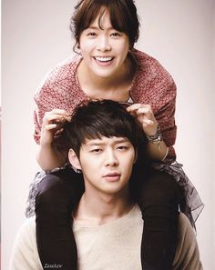Rooftop Prince! Park Ha and Yong Tae Yong is my favorite kdrama couple! <3