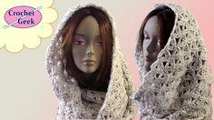 How to make a Crochet Infinity Scarf - Aquatic Blossom Crochet Geek