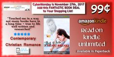 🎀 COUNTDOWN to #CyberMonday 🎀 from 11/21 to 11/27/17 Buy: This Is How A Heart Breaks http://amzn.to/2A7ktNQ  .99¢ & #FREE on #KindleUnlimited  Add to your own or a loved one's library!  #Kindle #BookDeals #BlackFriday #Amazon #KU #Bargain #Deals #Paperback #BookGift #Read