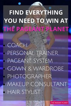 At The Pageant Planet Marketplace, find everything you need to win the crown. When you discover the perfect evening gown, pageant coach, personal training expert or pageant system you're interested in, contact them about their services. Be sure to also browse through the thousands of FREE pageant tips to help you prep and be the best you in your upcoming pageant.