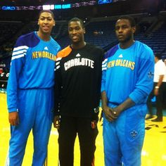 Former Kentucky Wildcats and now @NBA rookies... Anthony Davis, Michael Kidd-Gilchrist and Darius Miller!