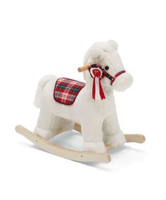 winter rocking horse all christmas mamas papas baby nursery cool bee animal rocking horse