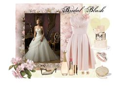 """""""Bridal Blush"""" by lisaargy ❤ liked on Polyvore"""