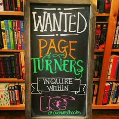 Wanted: Page Turners ~ Grand Junction, CO