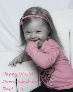 Coraline-- a very special Down Syndrome baby! Bless her heart!