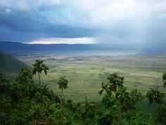 Ngorongoro crater in Tanzania, Africa.  Again, no words can possibly describe - you must go!!