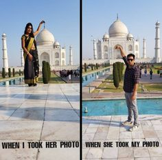 When we both took pictures of each other - SmelliFish - Daily Funny Pics, Funny Jokes, Viral Videos Funny Shit, Some Funny Jokes, Crazy Funny Memes, Funny Relatable Memes, Funny Love, Haha Funny, Funny Stuff, Random Stuff, Funny Quotes