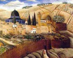 Reuven Rubin -Jerusalem 1926