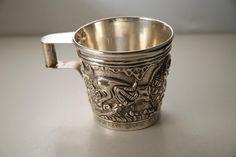 A Greek Silver Mug: Vapheio Cup replica Minoan, Pretty Little, Spy, Greece, Museum, Handle, Mugs, Sterling Silver, Beautiful