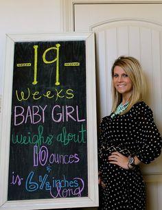 {dress} Life's Little Lovelies: 19 Weeks pregnancy chalkboard tracker pregnancy maternity fashion Pregnancy Chalkboard Tracker, Baby Countdown, Maternity Fashion, Baby Ideas, Life, Dresses, Vestidos, The Dress, Pregnancy Fashion