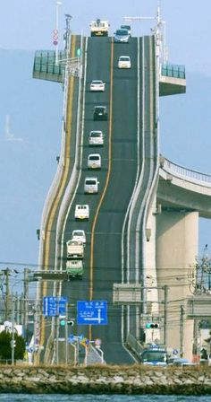This is a real road in Japan and its real crazy... #wanderlust #travel