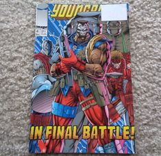 Image Comics Young Blood February  No. 1 1993 In Final Battle