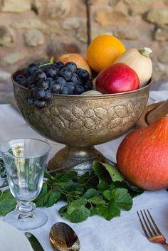 La Piboule, Provence, France - close up feast