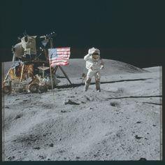https://flic.kr/p/yGJqZP | AS16-113-18340 | Apollo 16 Hasselblad image from film magazine 113/A - Orbit & Post-Ldg