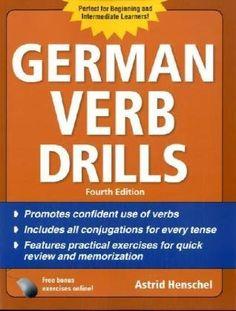 German Verb Drills, Fourth Edition (Drills Series)