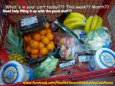 What's on your list today??  Need help creating a clean eating grocery list?? I can help you!!  It really is simple!  Sunday is food prep day at our house! Makes for a successful week!  Join me to start forming new healthy habits today!!