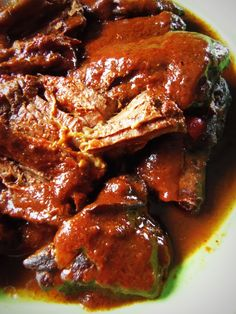 Chile Ancho Braised Beef in the Slow Cooker - Hispanic Kitchen (eat as is or use in tortillas.. see link)