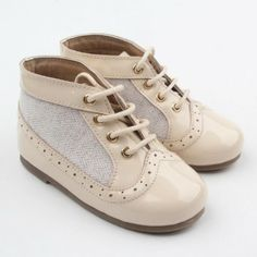 5ce8b38abd36 Baby girls spanish style shoes t-bar bow diamante pink white camel ...
