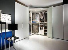 cabina armadio angolare