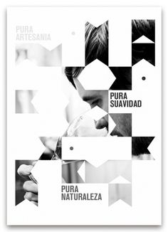 Promotional poster for Pureza. Via Behance.