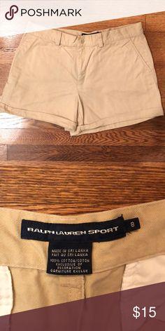 3e5d0b71209785 Ralph Lauren Sport Khaki Shorts Ralph Lauren Sport Khaki Shorts Size 8  Ralph Lauren Shorts Jean