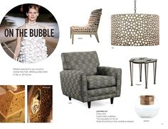 Trend: On The Bubble #hpmkt Palecek Bubble Side Table