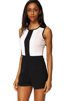 ScottyDirect - Block Colour Stretchy Playsuit, $55.95 (http://www.scottydirect.com/block-colour-stretchy-playsuit/)