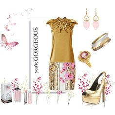 gorgeous, created by kathyborie7 on Polyvore