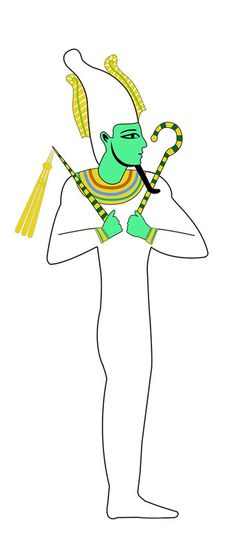 Osiris, god of the dead   Traps, Mazes, and Secret Chambers   Kids Discover