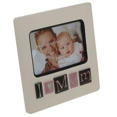 Personalised I Love My Mum Photo Frame