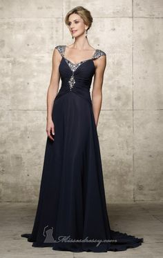 Alyce designs evening dress