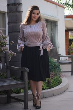 On Trend Plus Size Fashion Fashion Over, Curvy Fashion, Modest Fashion, Hijab Fashion, Plus Size Fashion, Fashion Dresses, Apostolic Fashion, Fashion Fall, Fashion Clothes