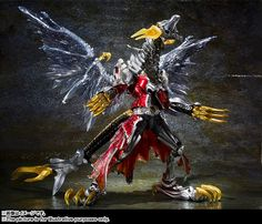 Orends: Range: S.I.C. Kamen Rider Wizard Flame Dragon & All Dragon Official Images
