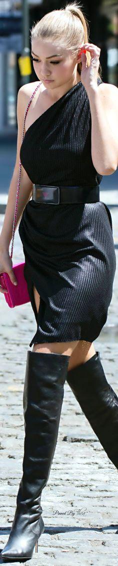 Style In The City ● Gigi Hadid ~ Tнεα