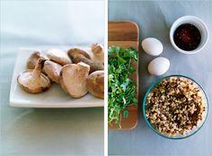 Asian Nuggets With Sauteed Veggies + Tahini Sauce