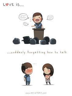Desculpas de Amor: Love is...