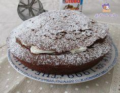 TORTA PANNA E NUTELLA riuscite a resistere? http://blog.giallozafferano.it/lericettedibea/torta-panna-e-nutella/ #lericettedibea #gialloblogs #solocosebuone