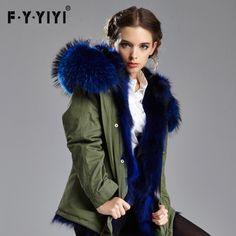 >> Click to Buy << Plus size 2016 Winter Jacket Women Fur jackets Outerwear raccoon large fur Hood rex rabbit fur Padded women's Fur coats Overcoat #Affiliate